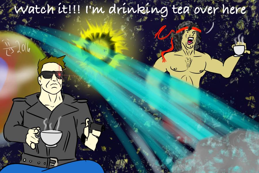 space tea